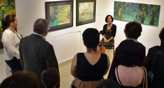 Képei világába avatta be tárlatának látogatóit Papageorgiu Andrea