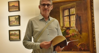 Tengerentúli művészettörténész a vásárhelyi közgyűjteményben