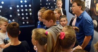 Pályaorientáció a Tornyai-múzeumban. Az iskolások megismerhették a múzeumi szakterületeket