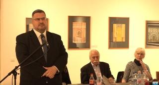 Karsai Ildikó hódmezővásárhelyi tárlatáról a Makói VTV Híradójában