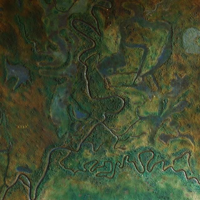 Csongrád megye domborzata, vízrajza és régészeti lelőhelyei