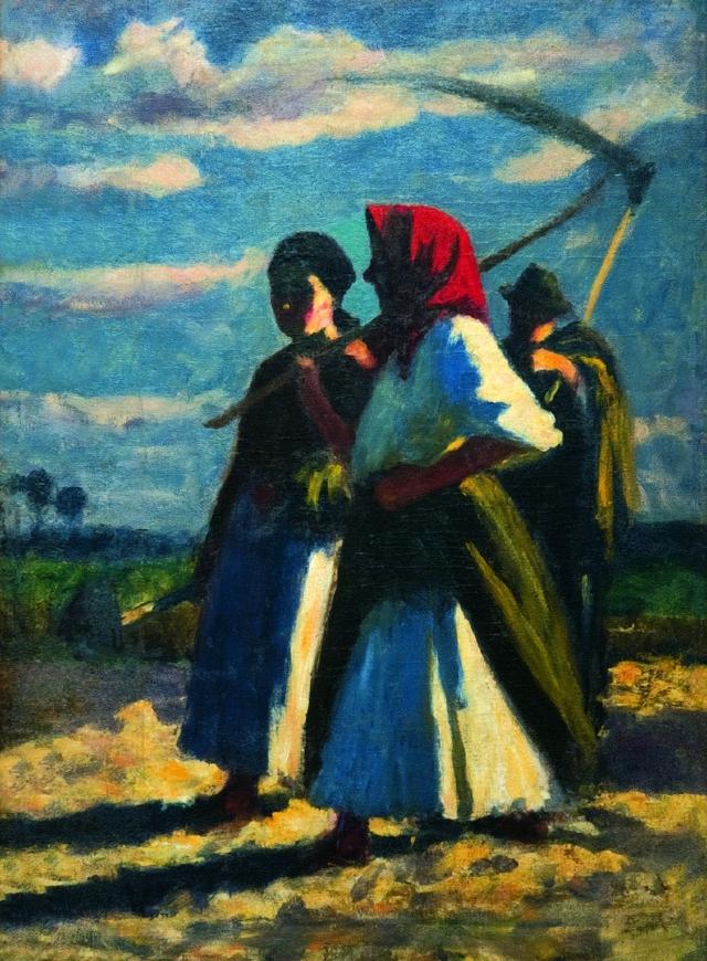 Koszta József: Mezei munkások
