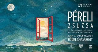 Péreli Zsuzsa gyűjteményes kiállítás nyílik a Tornyai János Múzeumban