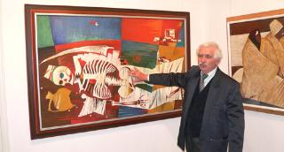 Hézső Ferenc kiállítása az Alföldi Galériában